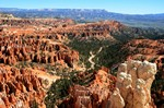 landscape at Bryce Canyon