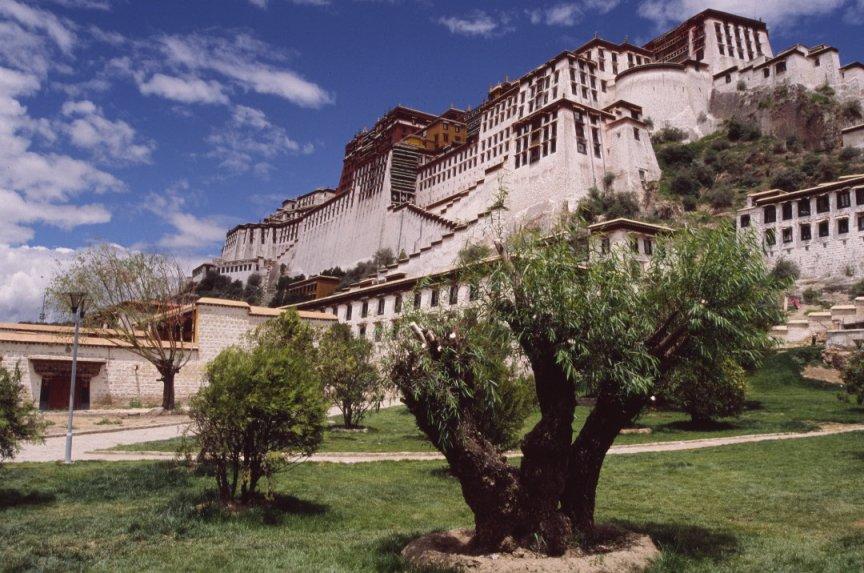 Il palazzo del Potala, a Lhasa